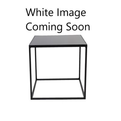 Black Modern Square Coffee Table Del Rey Party Rentals