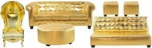 Gold Lounge Furniture
