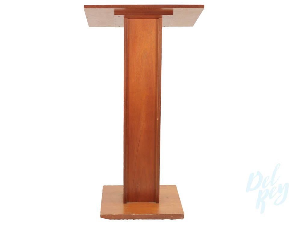 Economy Wood Podium Del Rey Party Rentals