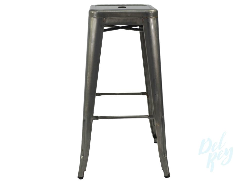 Tolix Marais Style Metal Bar Stool