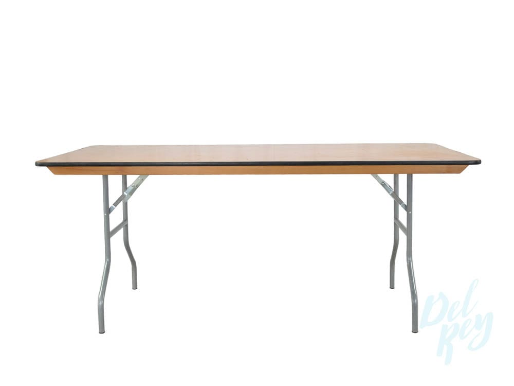6 Ft. Banquet Table