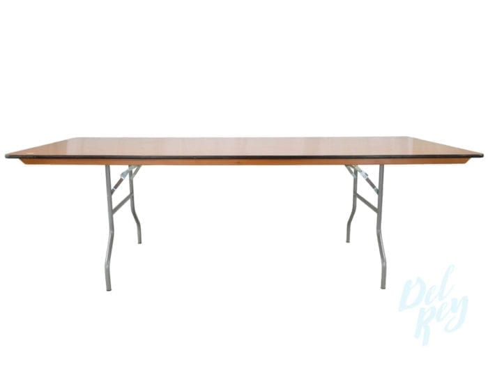 8 Ft X 40inches Banquet Table