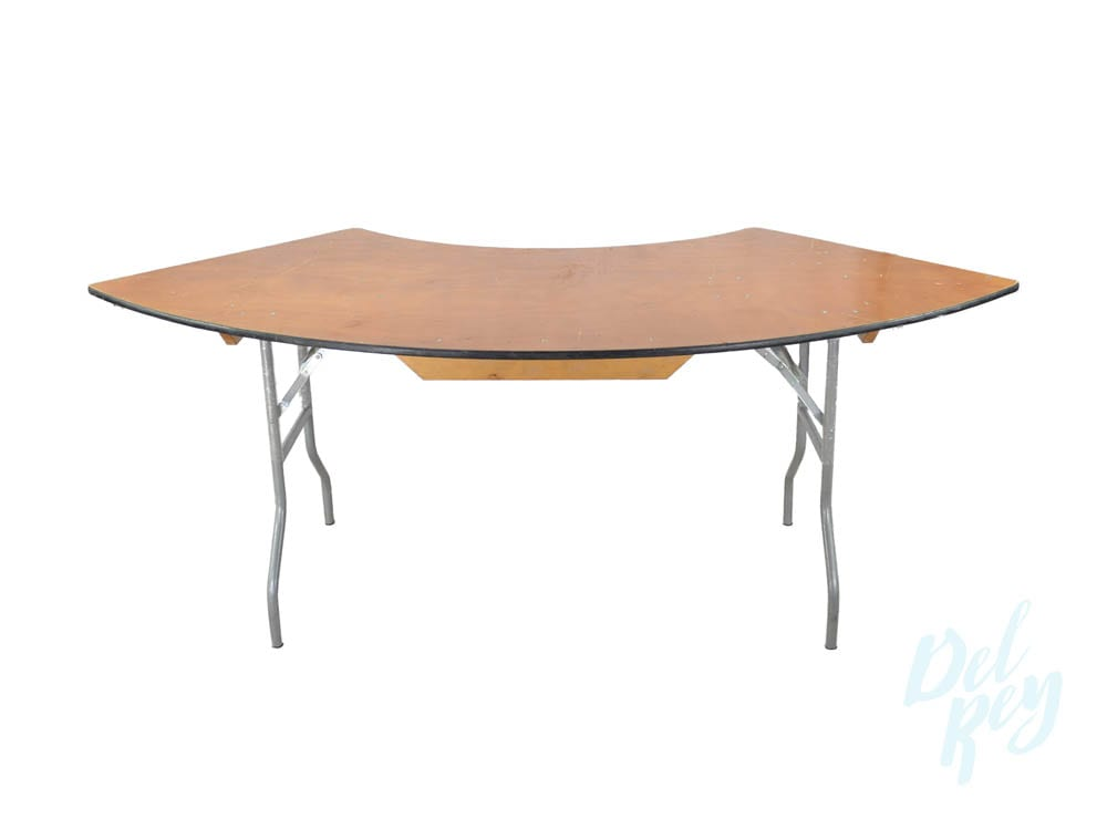 96 inch Serpentine Table