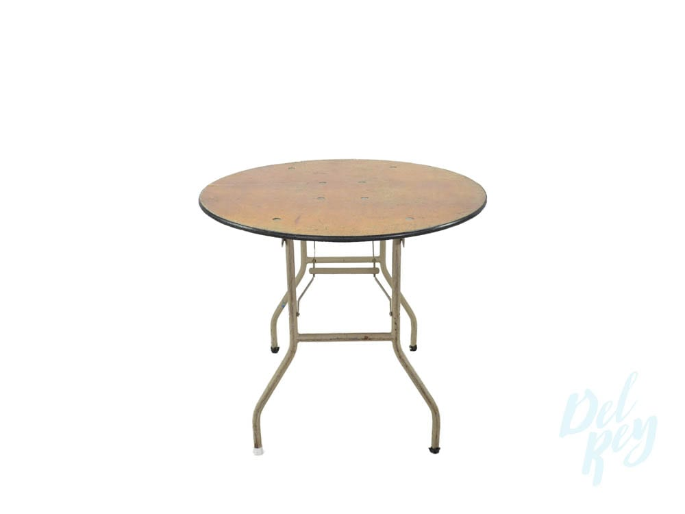 36 Inch Round Folding Table